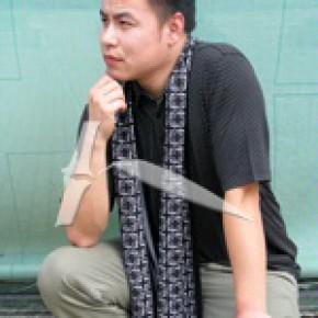竹纤维拉绒围巾  柔软舒适 时尚 环保健康