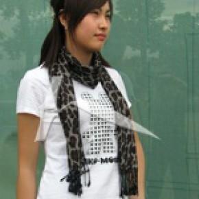 竹纤维拉绒围巾  环保健康 柔软舒适 保暖透气
