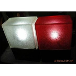 水晶树脂制方形灯 酒店家居摆设装饰