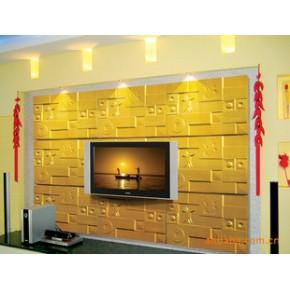 背景墙 彩雕背景墙 装饰壁纸 墙贴(远古之音01)