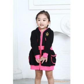 韩国韩版童装 女童针织连衣裙 韩国新款