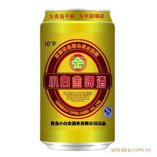青岛华邑葡萄酒有限公司 产品供应 啤酒 供应小白金金质易拉罐 小白金