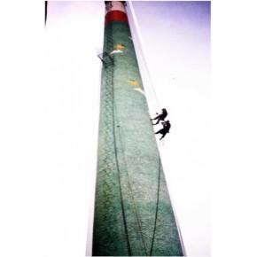 松原市专业烟囱作业|高空烟囱|烟囱脱硫|烟囱刷色环工程公司