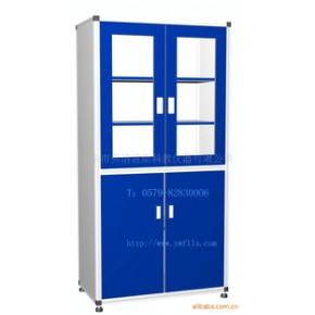 铝型材框架,铝合金接头,不锈钢地脚,药品柜
