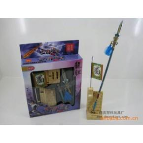 拼装模型 021三国锌合金兵器  赵云之龙胆