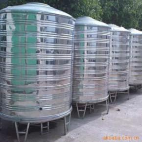湘潭不锈钢圆柱型水箱 不锈钢水箱