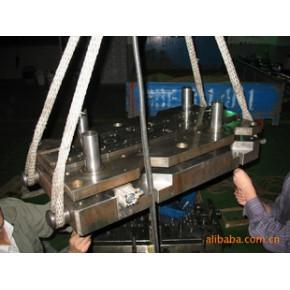 空调马达铁芯自动叠铆级进模,模具加工