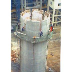 100M砼烟囱拆除,40M修复顶口施工技术方案