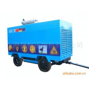 上海捷柯 双螺杆 24V柴油发动机 大型移动空压机