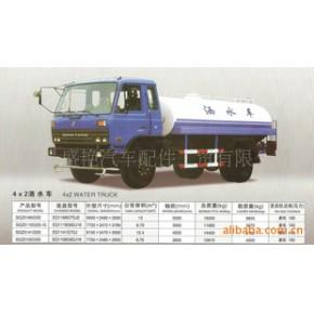 东风SGZ5160GSS型8吨4x2洒水车