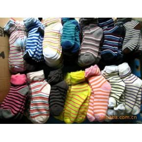 时尚外贸全精梳棉毛女士毛巾袜
