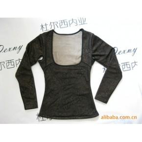 杜尔西内亚棉款长袖塑身保暖上衣/腰背夹秋冬新品