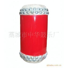 直径12厘米精品竹筒鼓 椿木、黄牛皮