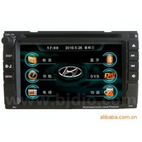 北箭现代伊兰特汽车影音导航GPS/双锭车载DVD