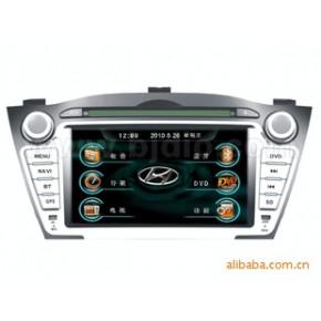 北箭现代IX35汽车影音导航GPS/双锭7寸车载DVD