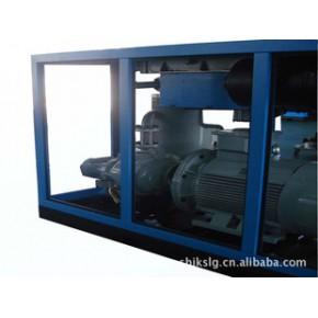 上海捷柯 风冷式 大流量 双螺杆空压机