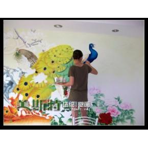 珠海墙体彩绘