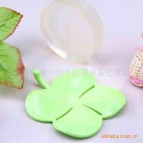 四叶草皂盘(幸运草皂盘)~香皂盒 DHC皂盒 批发