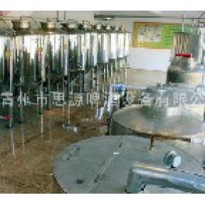 生产自酿啤酒的设备-青州思源啤酒设备