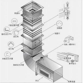 重庆写字楼中央空调风管安装公司 重庆中央空调风管制作