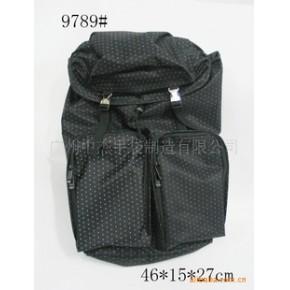 休闲双肩电脑背包 来样订做 贴牌加工 质优