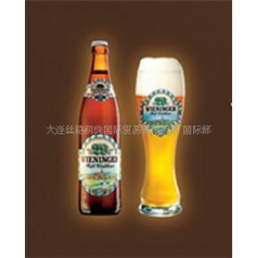 【有机啤酒】德国原装进口WIENIN活酵母全麦啤酒礼盒装