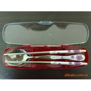 不锈钢餐具套装,礼品餐具,韩式餐具两件套