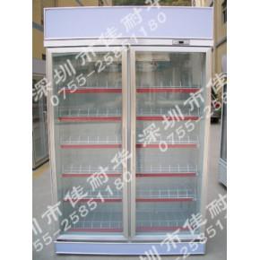佳耐华 JG-2A商超二门立式冰柜 展示柜 冷柜 一年保修
