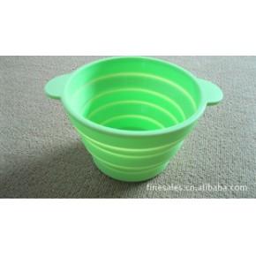 硅胶折叠碗,硅胶调理盒,硅胶碗