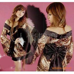 情趣内衣 豹纹和服 一件代发 性感套装 招网店加盟