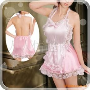 情趣内衣 粉色女佣服 女仆服装 角色扮演 一件代发