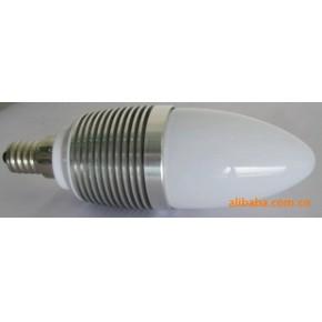 3W大功率LED节能灯灯具、蜡烛灯外壳配件、套件