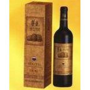 批发零售茅台方盒陈酿高级干红葡萄酒