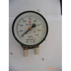 优质  双针压力表   雷尔达 上海仪川仪表