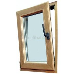 铝木复合门窗 平开;推拉