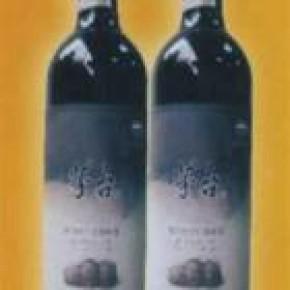 批发零售、茅台橡木桶陈酿五年高级干红葡萄酒