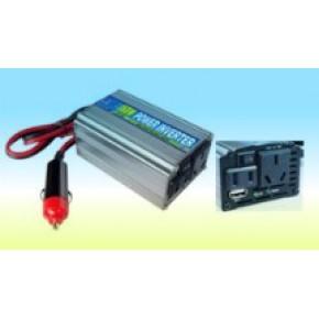 150W修正波逆变器,车载逆变电源,带USB,双输出插座