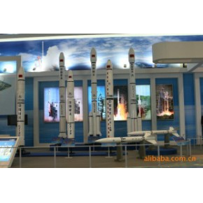 运载火箭仿真模型 美联航空