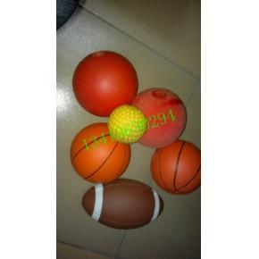 可印刷LOGO标志PU球 各种造型PU玩具 发泡PU篮球