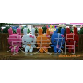 毛绒礼品玩具 毛绒兔 天使兔