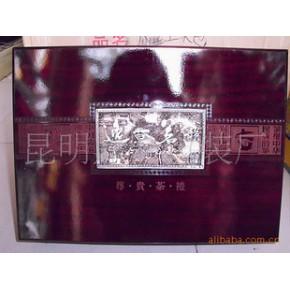 包装/普洱茶木盒/逸香茗韵双瓷罐尊贵茶礼油漆木盒