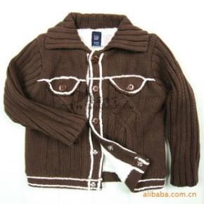 外贸童装混批发代理销欧美品牌原单男女儿童毛衣网络店