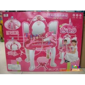 雄城过家家玩具芭啦谷梦幻魔镜梳妆台带MP3插口