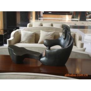 仿古铜树脂雕塑工艺品 现代艺术展示,酒店家居摆设