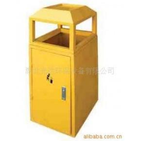 【供应】环卫设施环保钢板垃圾桶 果皮箱