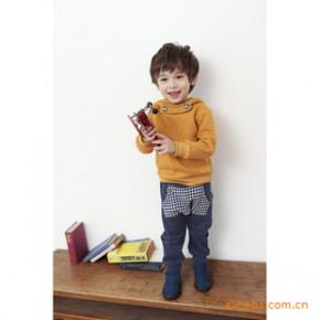 韩国进口童装个性舒适大兜休闲童裤