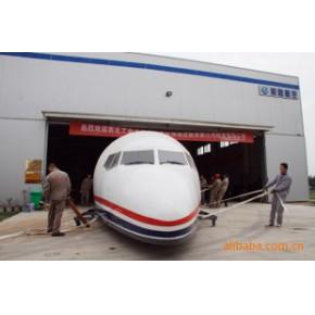 又一架崭新的模拟舱驶出美联公司厂房