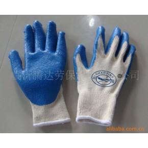 纱线浸胶手套,劳保手套,防护手套