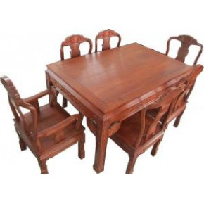 南马红木家具餐桌