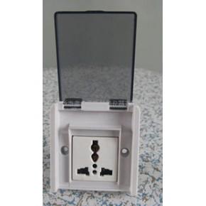 实验室专透明10A多功能插座